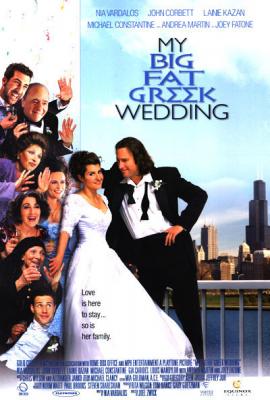 My Big Fat Greek Wedding movie poster
